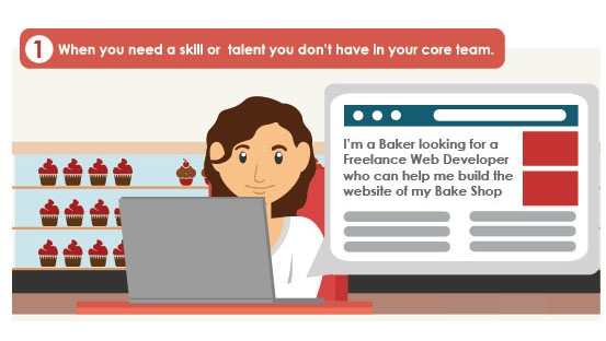 Hire Freelancers with different skills