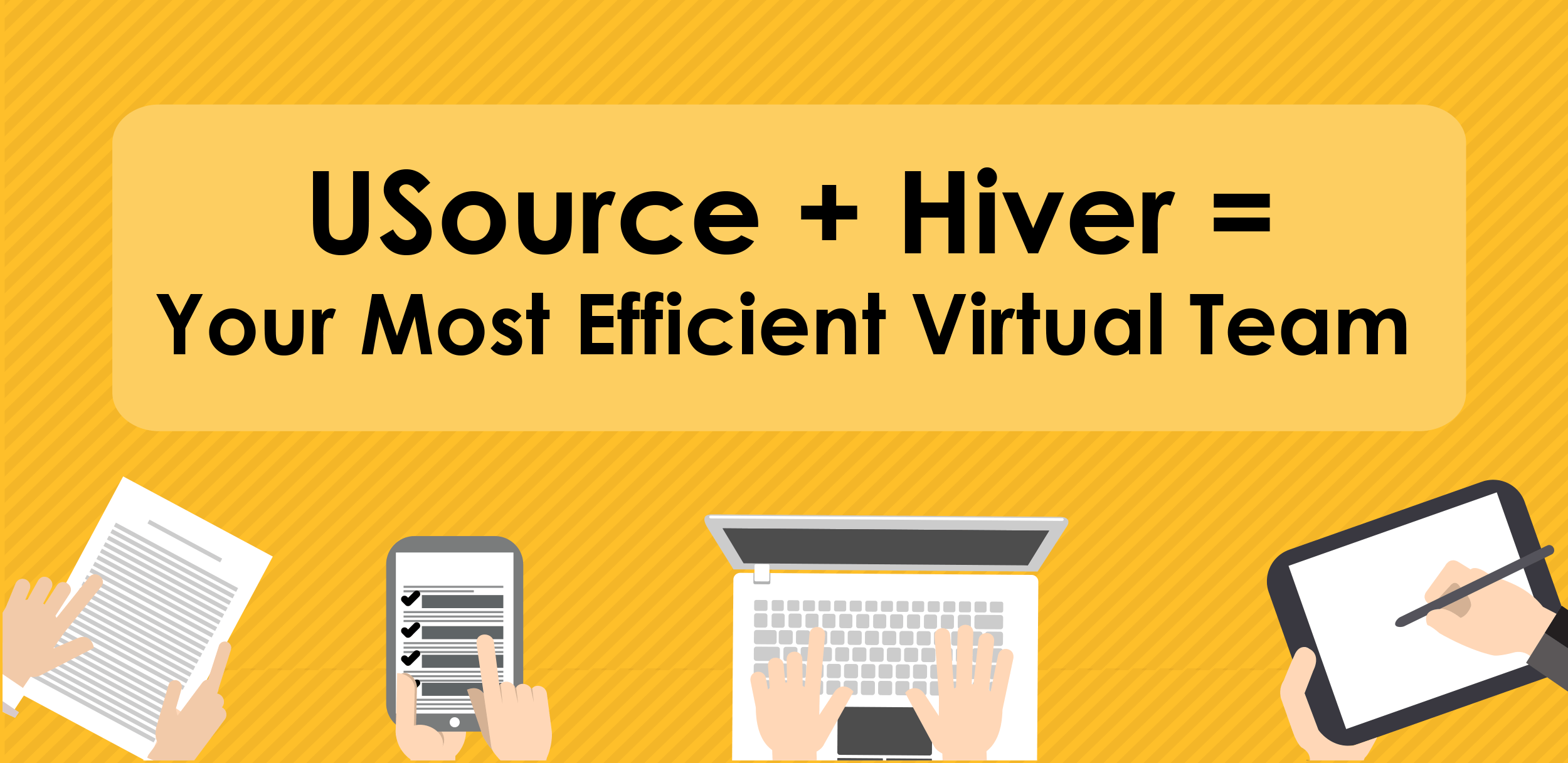 USource Virtual Teams using Hiver