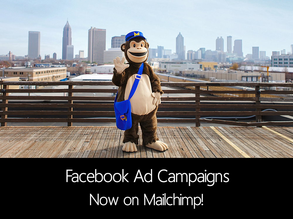 MailChimp delivers Facebook Ads