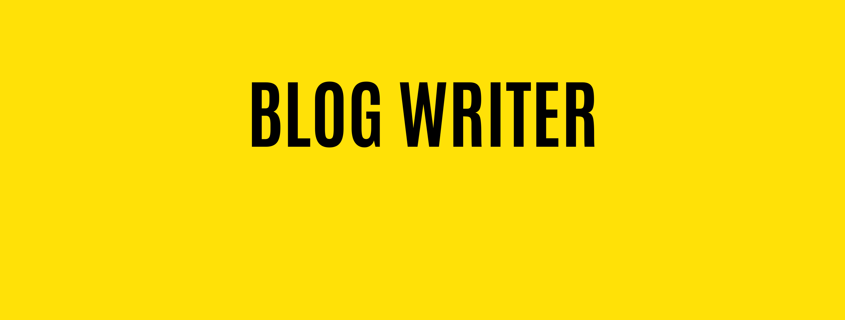 Hire Blog Copywriter