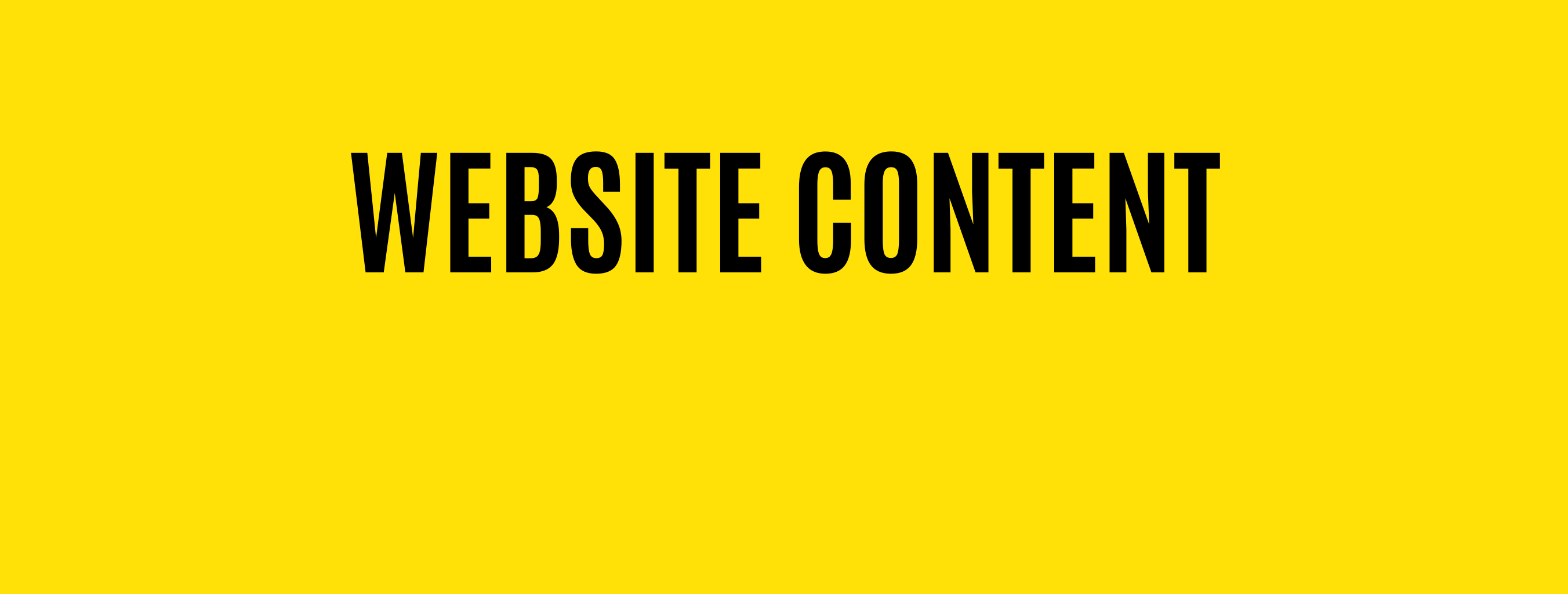Hire Website Content Writers