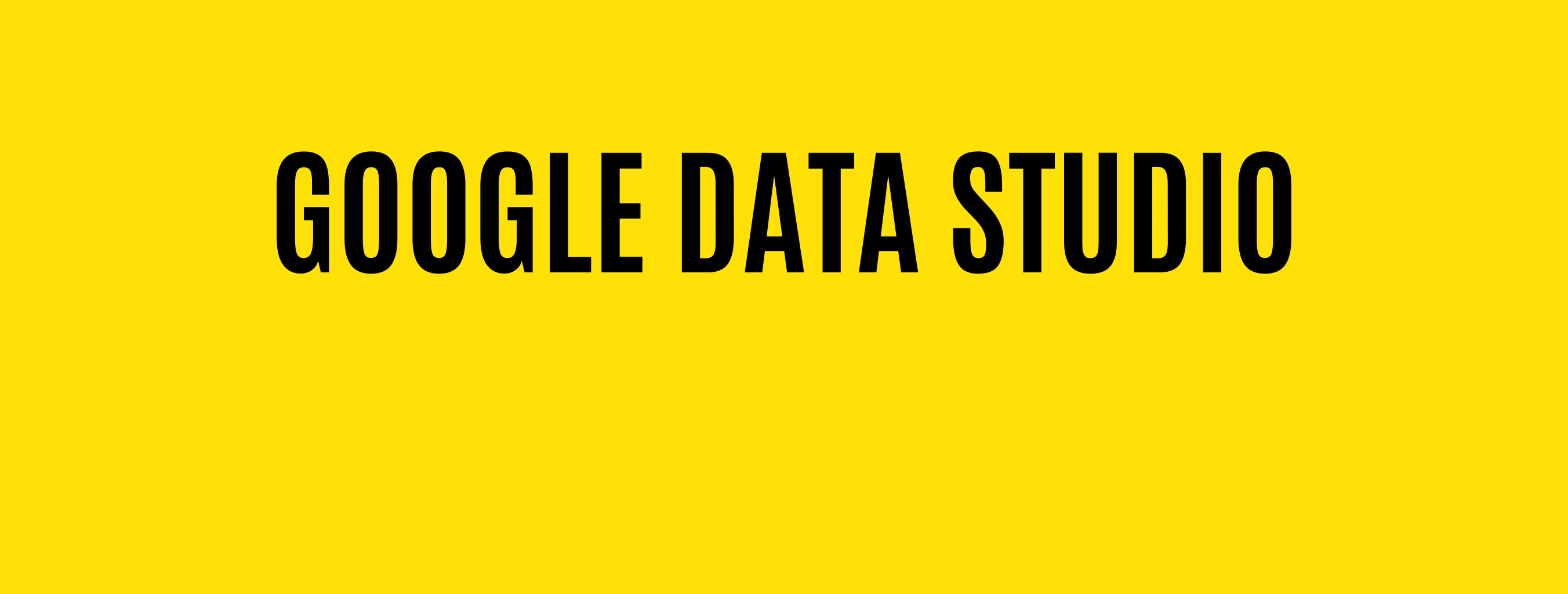 Google Data Studio Integrations & Setups