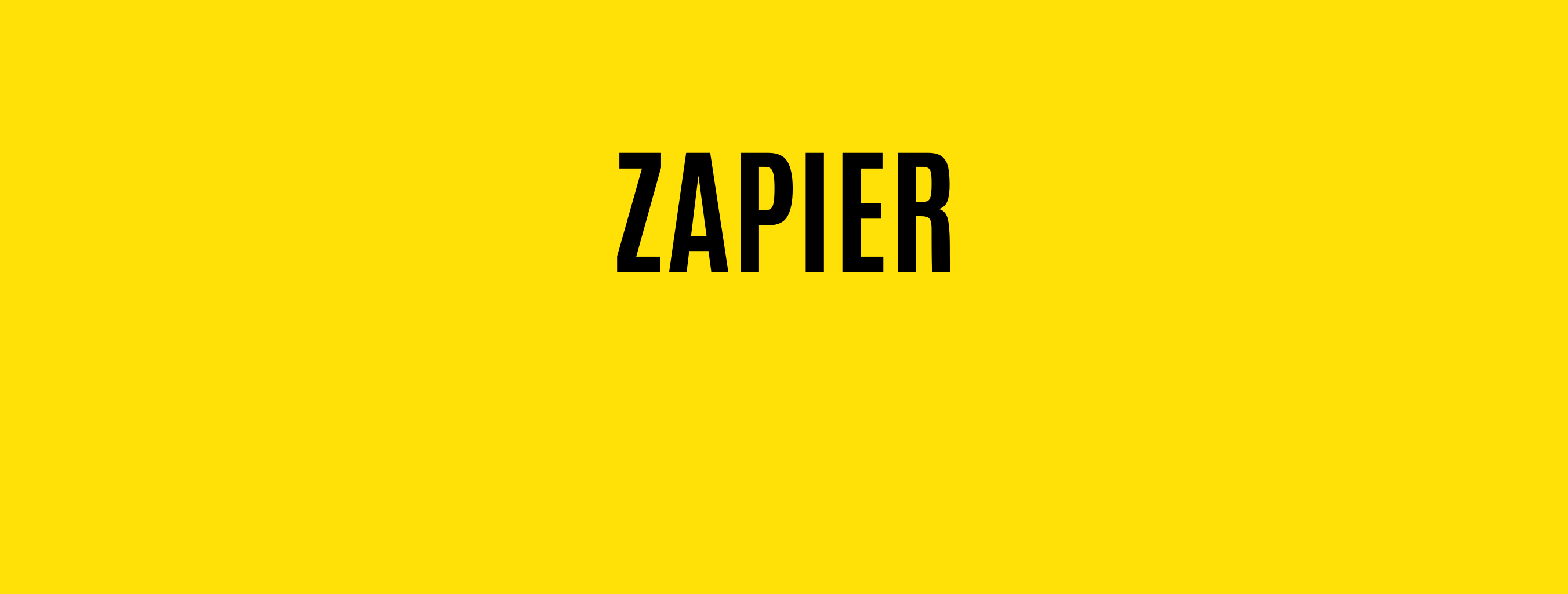 Zapier Ingregration