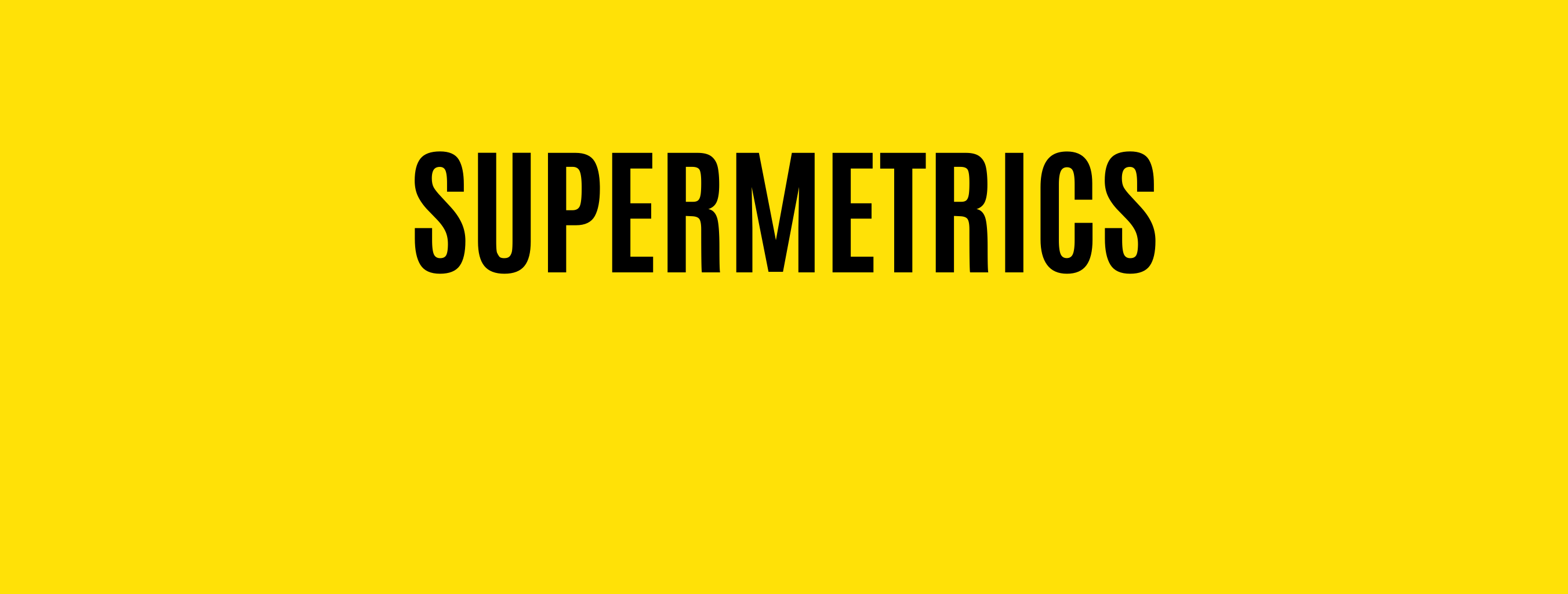 Hire Supermetrics Specialists - Platform Experts for Supermetrics