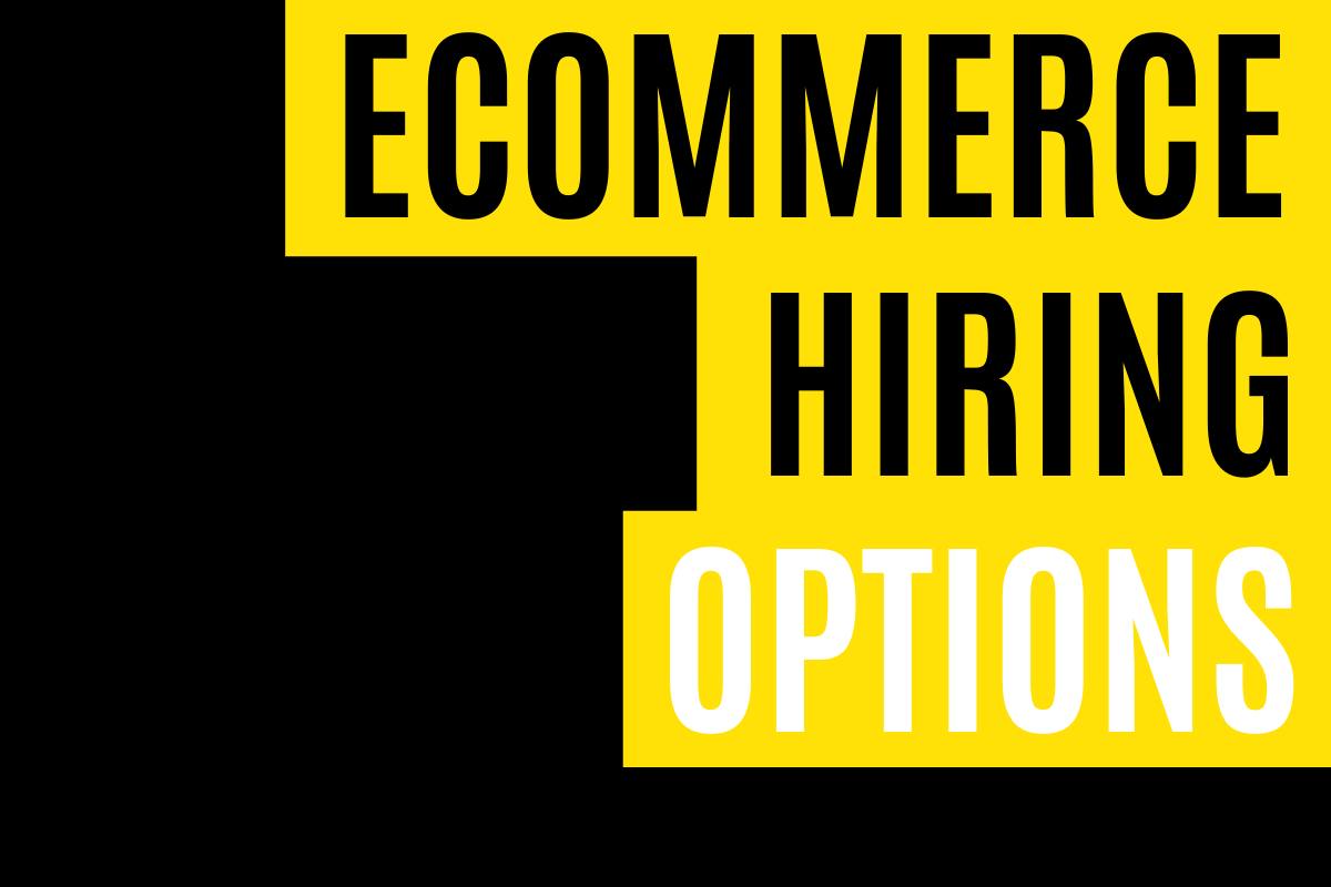 Ecommerce Hiring for Customer Service