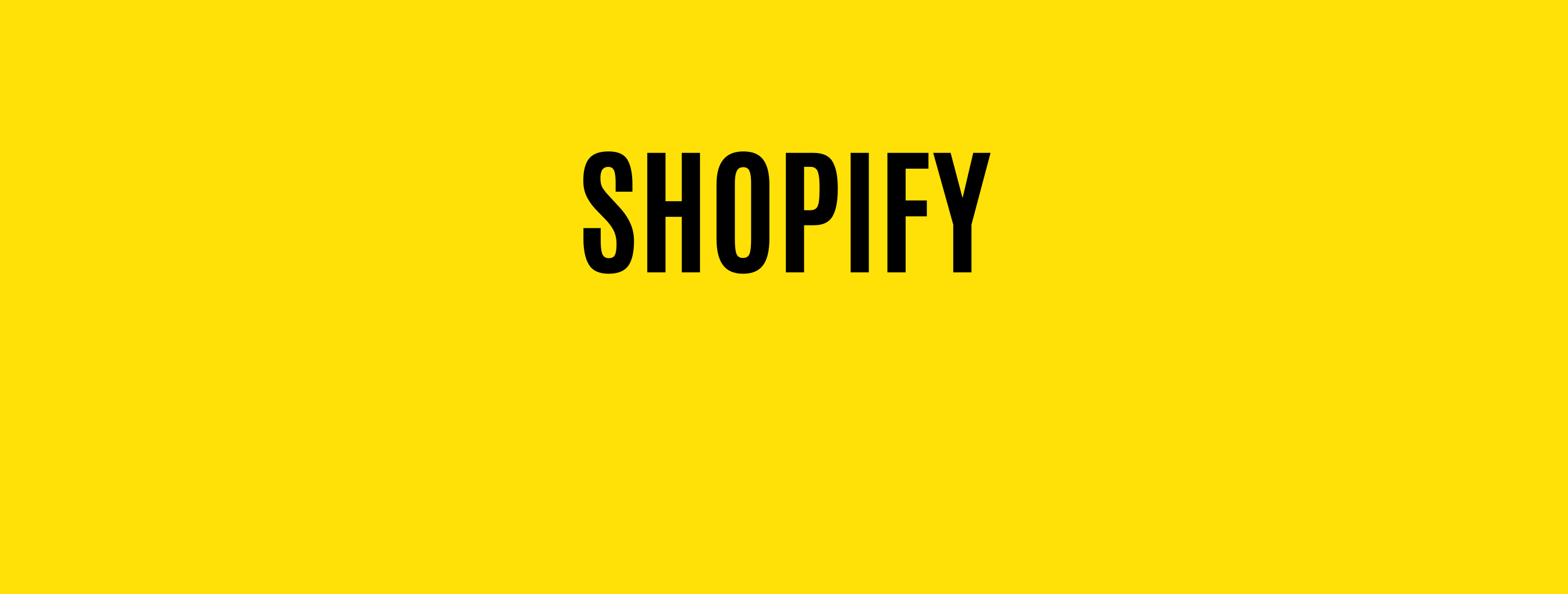Ecommerce solutions for Shopify
