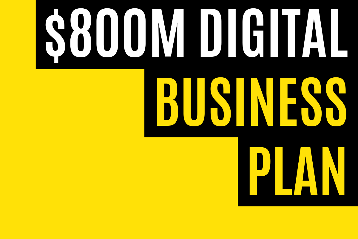 JobMaker Digital Business Plan $800m Funding